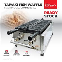 Taiyaki Fish Waffle Machine Gas Commercial