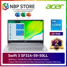 Acer Swift 3 SF314-59-50LL 14'' FHD Laptop Pure Silver
