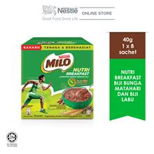 Nestle MILO® Nutri Breakfast Sunflower Seeds  & Pumpkin Seeds 8x40g)