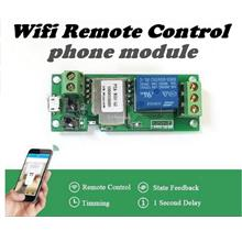 DIY~12V-5V wifi switch relay phone module android ios iphone Samsung
