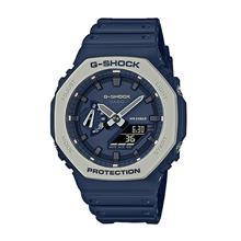 Casio G-SHOCK Men Analog Digital Navy Blue Sport Watch GA-2110ET-2ADR