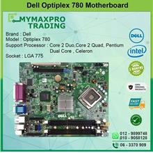 DELL Optiplex 780 Motherboard LGA775 DDR3 Intel Q45 X4500 256MB