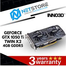 INNO3D GTX 1050 TI TWIN X2 4GB GDDR5 GRAPHIC CARD - N105K-2DDV-M5CM