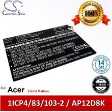 Original CS Tablet Battery ACW510SL Acer Iconia W510-1422 Battery