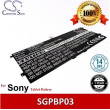 Original CS Tablet Battery Model SPT312SL Sony SGPBP03 Battery
