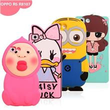 OPPO R5 Cartoon Design Silicone SharkProof Case Cover Casing?