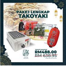 Takoyaki 1 Plate Machine Package