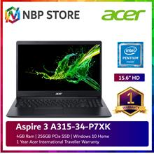 "Acer Aspire 3 A315-34-P7XK 15.6 "" Laptop Obsidian Black"