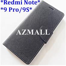 Card Stand Fancy Diary Case Flip Cover for Redmi Note 9 Pro / 9S