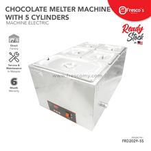 Chocolate Melter Machine With 5 Cylinders