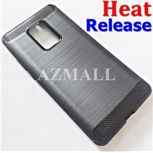 (Heat Release) Carbon Fiber Slim TPU Case Cover Huawei Mate 20 X (7.2)