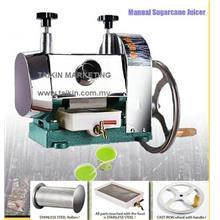 Manual Sugar Cane Machine Juicer Stainless Steel Rollers Squeezer