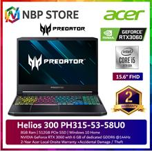"Acer Predator Helios 300 PH315-53-58U0 15.6 "" FHD 144Hz Gaming Laptop"