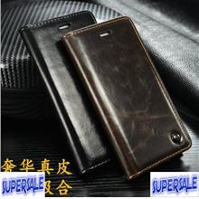 Leather Flip Casing Case Cover for Samsung S6 & S6 Edge
