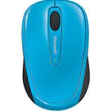 MICROSOFT MOBILE 3500 WIRELESS BLUETRACK MOUSE (GMF-00275) CYAN