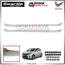 Perodua Axia Bodykit Original Gear Up ABS Plastic Clips Rubber Lining