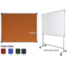 Foam Notice Board FB33 3x3' FB34 3x4' FB35 3x5' FB36 3x6' W/Out Std ZZ
