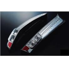 EAGLE EYES HONDA STREAM '07-09 CLEAR LED Tail Lamp [TL-153]