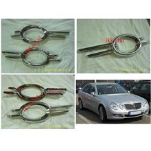 Mercedes Benz W211 AVANTGARDE '07-09 Fog Lamp Cover Chrome [2pcs/set]