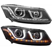 EAGLE EYES HONDA ACCORD '08 U Style LED DRL Projector Head Lamp