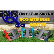 IXS Spare Parts Helmet Visor + Pins Xult DH