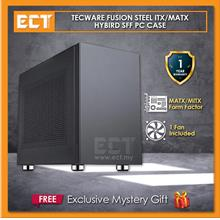 Tecware Fusion Steel MATX Hybird SFF PC Case - Grey
