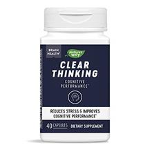 Nature's Way Nature's Clear Thinking Nootropic Brain Health Cognitive Perfor