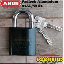 ABUS Padlock Aluminium 83AL/50 S2 (1 Lock 2 Keys)