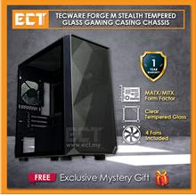 Tecware Forge M Stealth TG Tempered Glass MATX Gaming Casing Chassis