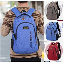 ready stock laptop backpack bag school bag O12