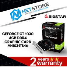 BIOSTAR GEFORCE GT 1030 4GB DDR4 GRAPHIC CARD - VN1034TB46