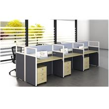 Workstation for 6 Pax with Partition