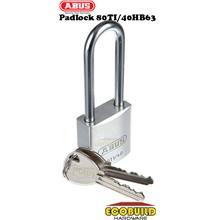 ABUS Padlock Titanium 80TI/40HB63 ~ Long Shackle (1 Lock 2 Keys)