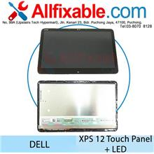 Dell XPS 12 9Q23 12 9250 Touch Panel + LED