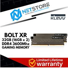 KLEVV BOLT XR 32GB (16GB x 2) DDR4 3600Mhz GAMING MEMORY