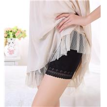 Safety Short,Pregnant Prevent Expose Mid Thigh Length Lace Underwear