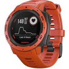 GARMIN Instict Flame Red Outdoor Fitness GPS 010 02064 02 Unisex Watch