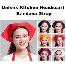 Unisex Kitchen Triangle Bandana Headscarf Headwear Cap Hat 2425.1