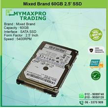 60GB SATA 2.5' Laptop Hard Drive Notebook Replace 120GB 160GB HDD
