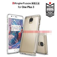 100% Ringke Fusion OnePlus Three 1+3 One Plus Three Case Cover Casing