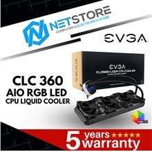 EVGA CLC 360 AIO RGB LED CPU LIQUID COOLER - 400-HY-CL36-V1