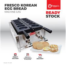 Fresco Waffle Egg Bread Korea Gaeran Bbang Maker Machine Gas
