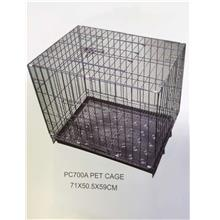 Pet Cage PC700A 71L x 50.5W x 59H cm (For Cat, Dog)