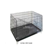 CC760-1 Pet Cage 77L X 51W X 65.5H cm (For Cat, Dog and others)