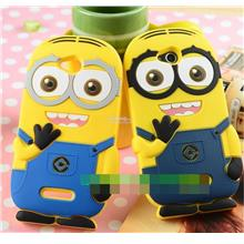 Sony Xperia C C2305 S39H Minion Soft Silicone Back Case Cover Casing