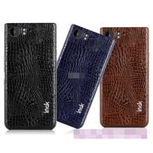Imak BlackBerry Mercury KeyOne PU Leather Back Case Cover Casing
