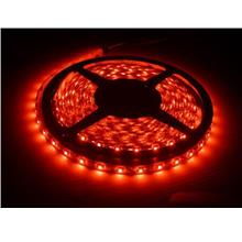 Non Waterproof 5 Meters Red LED Flexible Strip Lights 60LED 5050