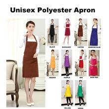 Unisex Multipurpose Colorful Polyester Apron with 2 Pockets 2538.1