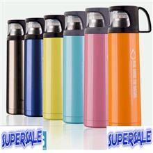 SALES??? THERMOS INSULATED HOT COLD GERMAN TECHNOLOGY 500ml