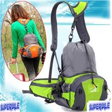 Expansion Small outdoor shoulder bag sports hiking fishing cycling